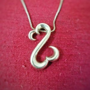 Open Hearts necklace from Kays